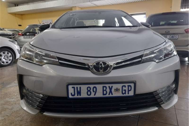 Used 2014 Toyota Corolla 1.6 Advanced auto