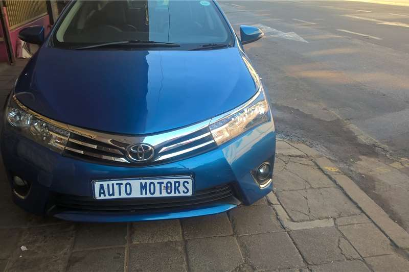 Toyota Corolla 1.6 Advanced auto 2016