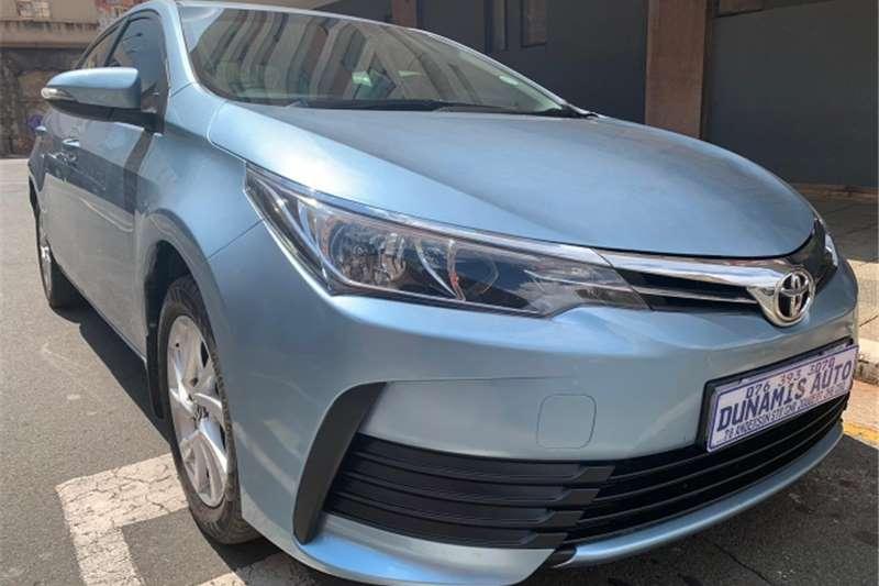 Toyota Corolla 1.6 Advanced auto 2017