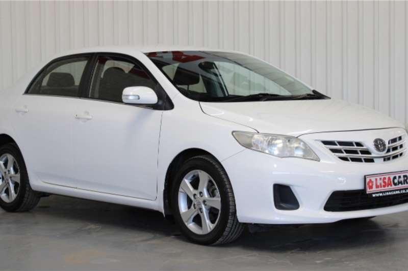 Toyota Corolla 1.6 Advanced automatic 2013
