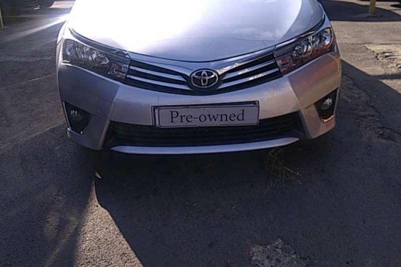 2015 Toyota Corolla Corolla 1.6 Advanced automatic