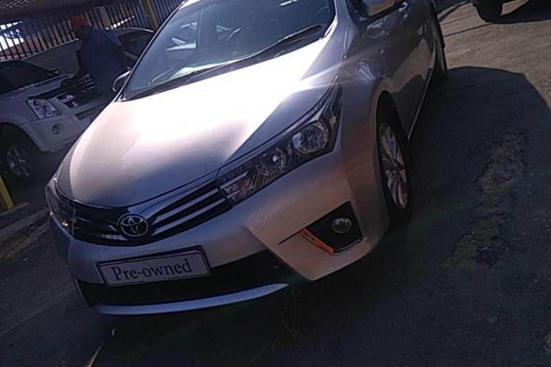 Used 2015 Toyota Corolla 1.6 Advanced automatic