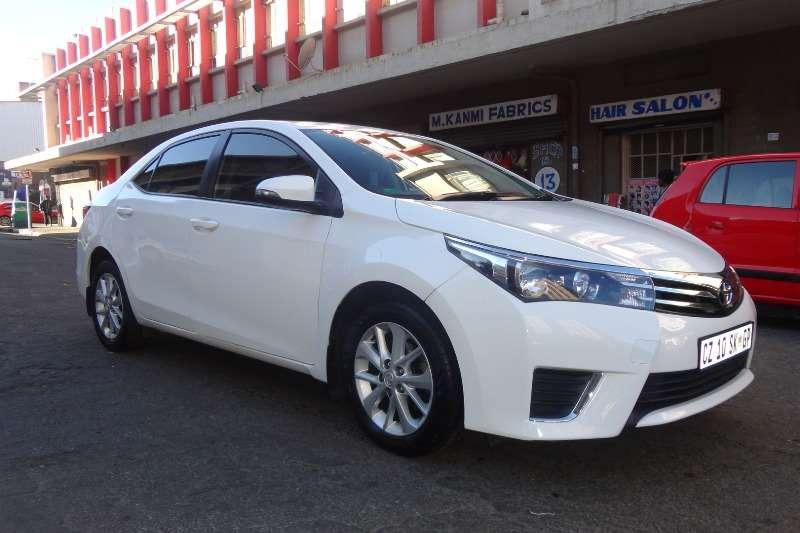 White Toyota Corolla >> Toyota Corolla 1 6 Prestige