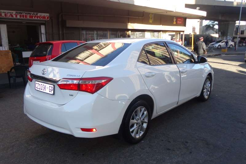 2014 Toyota Corolla For Sale >> Toyota Corolla 1 6 Prestige