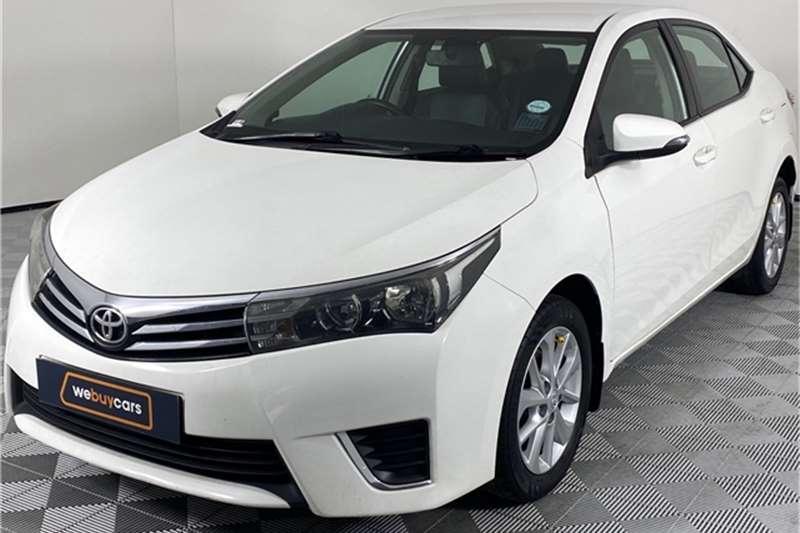 2015 Toyota Corolla Corolla 1.6 Prestige auto