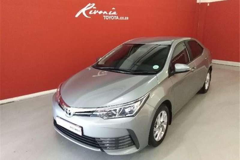 Toyota Corolla 1.6 Prestige auto 2018