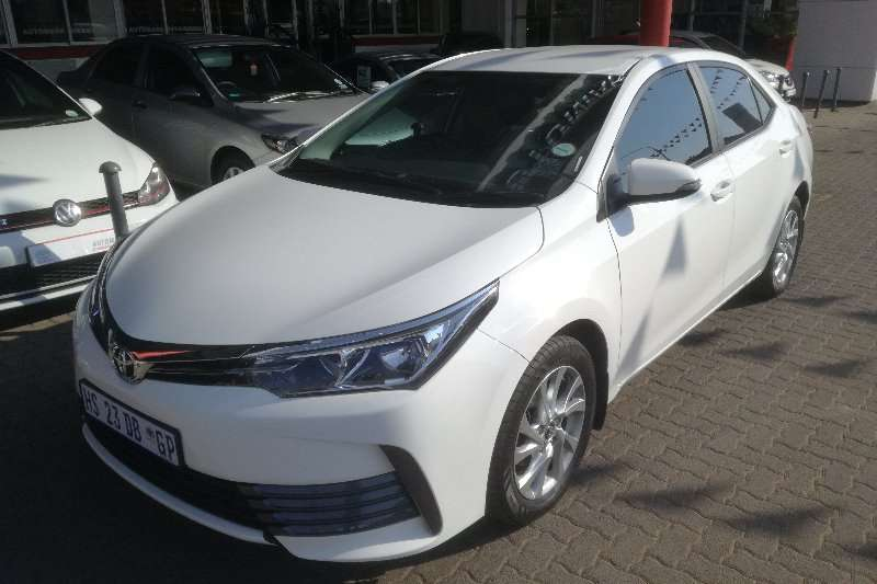 Toyota Corolla 1.6 Prestige Demo HS23DBGP 2018