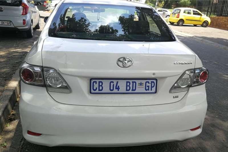 Toyota Corolla 1.6 Professional 2012