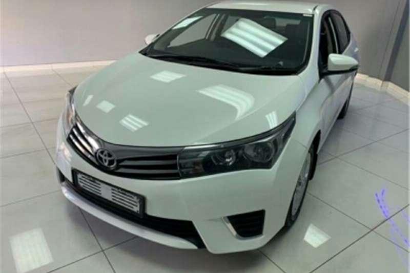 Toyota Corolla 1.6 Professional 2015