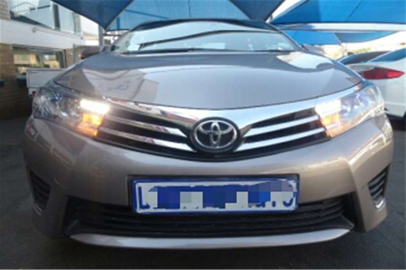 Toyota Corolla 1.6 Professional 2016