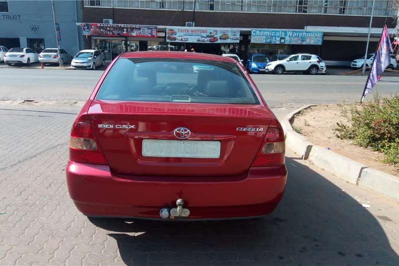 Used 2003 Toyota Corolla COROLLA 1.8 EXCLUSIVE