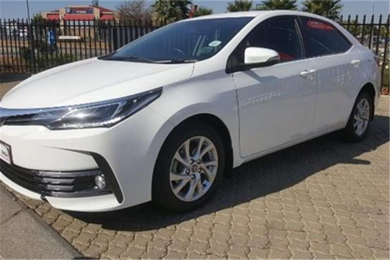 Toyota Corolla 1 8 Exclusive