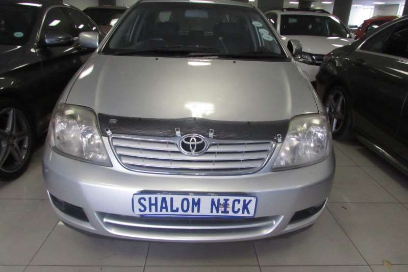 Toyota Corolla 1.8 Exclusive automatic 2005