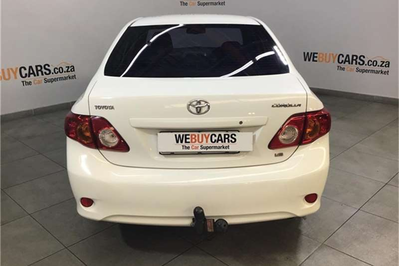 Toyota Corolla 1.8 Exclusive automatic 2008
