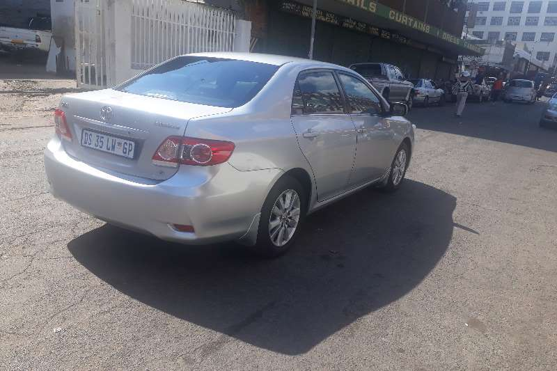 Toyota Corolla 1.8 Exclusive automatic 2010