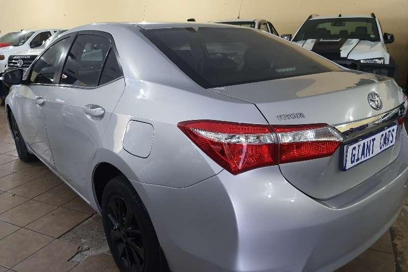 Toyota Corolla 1.8 Exclusive automatic 2014
