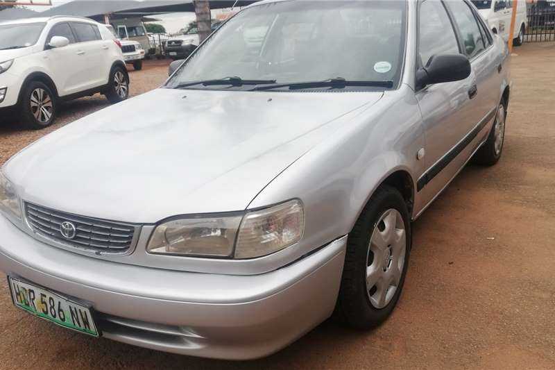 Toyota Corolla 130 GLE Manual 5 Speed 2001