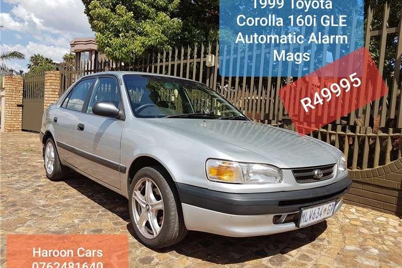 Toyota Corolla 160i GLE automatic 1999