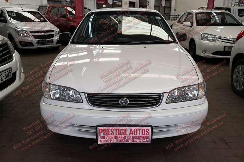 Toyota Corolla 160i GLE automatic 2002