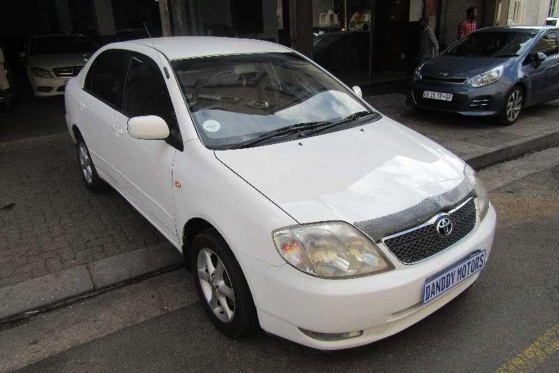 Toyota Corolla 160i GSX 2004