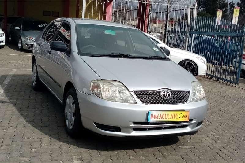 Toyota Corolla 180i GLS 2004