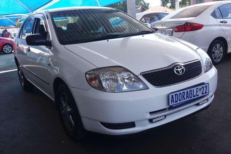 Toyota Corolla 180i GLS Automatic 2004
