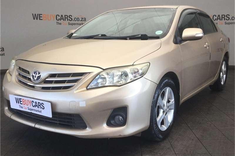 Toyota Corolla 2.0D 4D Advanced 2011