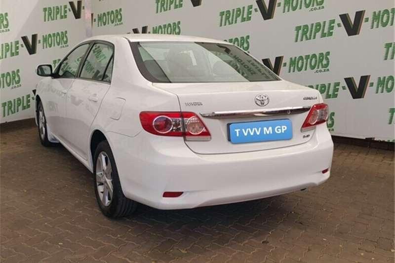 Toyota Corolla 2.0D-4D Advanced 2013