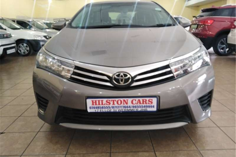 Toyota Corolla 2.0D 4D Advanced 2016