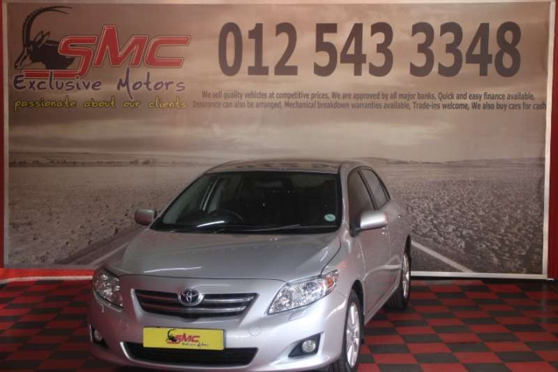 Toyota Corolla 2.0D 4D Exclusive 2007