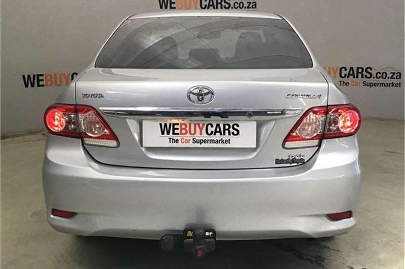 Toyota Corolla 2.0D 4D Exclusive 2013