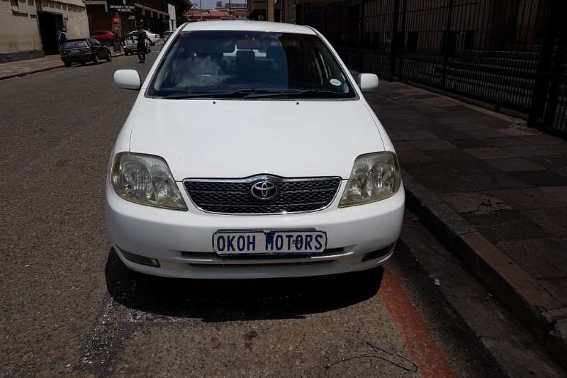 2004 Toyota Corolla hatch COROLLA 1.2T XR CVT (5DR)