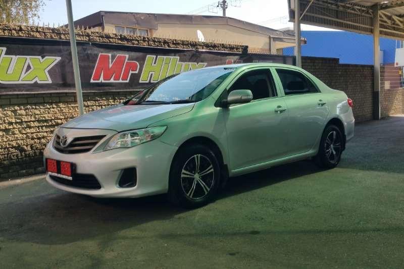 2013 Toyota Corolla 1.4 Professional