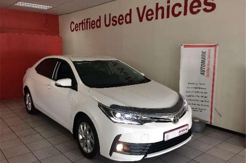 2019 Toyota Corolla 1.8 Exclusive auto