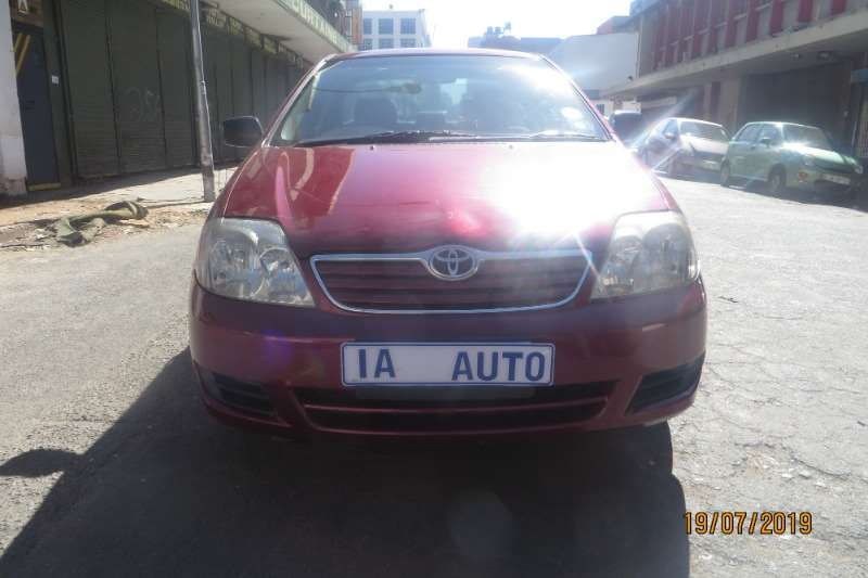 2006 Toyota Corolla 1.4 Advanced