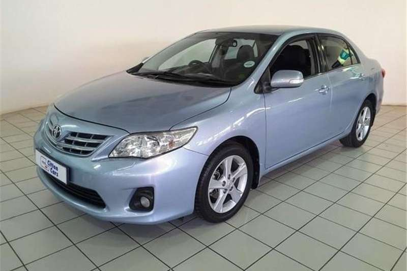 2012 Toyota Corolla 2.0 Exclusive auto