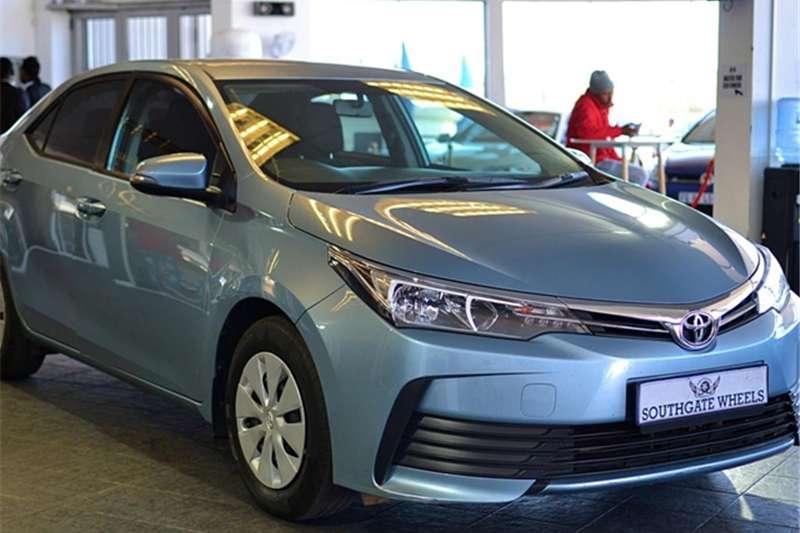 2017 Toyota Corolla 1.3 Esteem