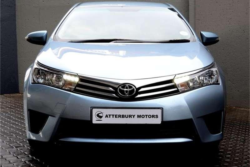 2016 Toyota Corolla 1.4D 4D Esteem