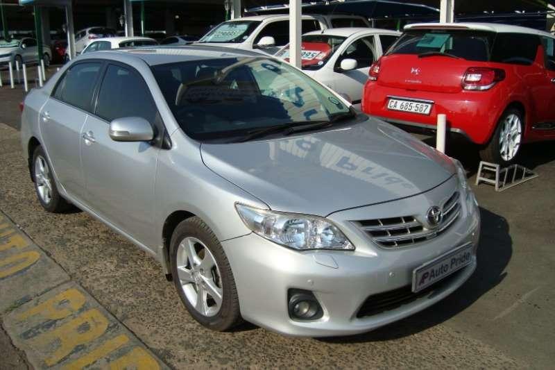 2013 Toyota Corolla 2.0 Exclusive auto