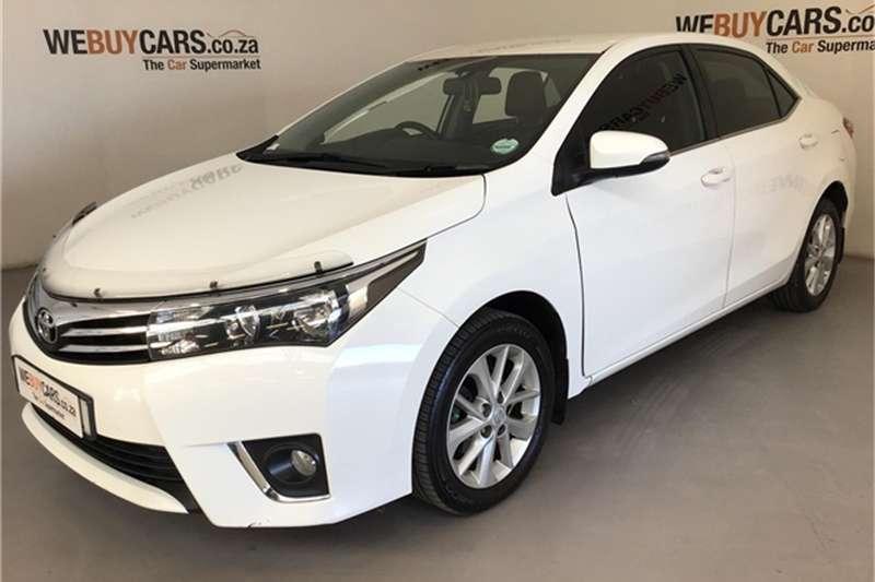 2015 Toyota Corolla 1.8 Exclusive