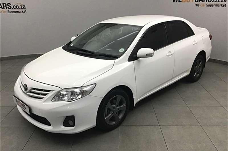 2013 Toyota Corolla 1.6 Sprinter