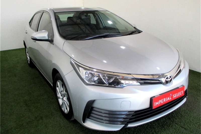 2017 Toyota Corolla 1.6 Prestige auto