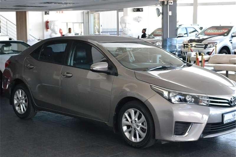 2015 Toyota Corolla 1.3 Prestige