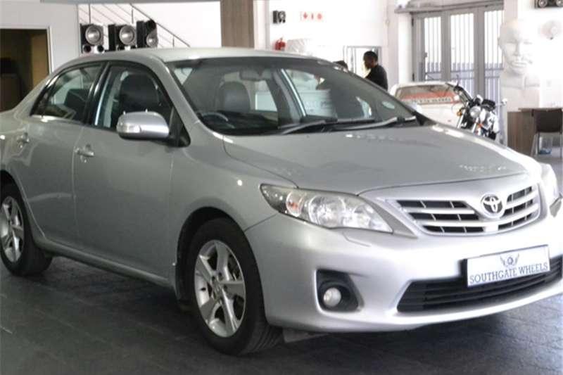 2011 Toyota Corolla 2.0 Exclusive auto