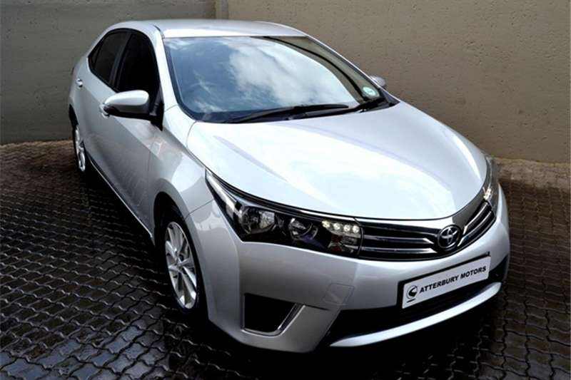 2016 Toyota Corolla 1.4D 4D Prestige
