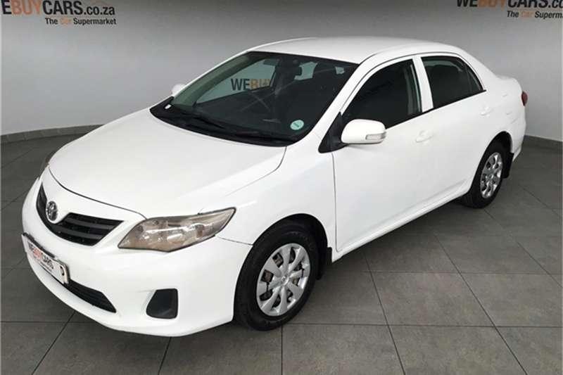 2011 Toyota Corolla 1.3 Professional