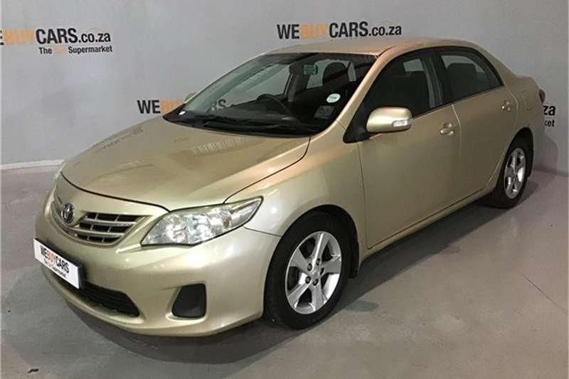 2012 Toyota Corolla 1.6 Advanced auto