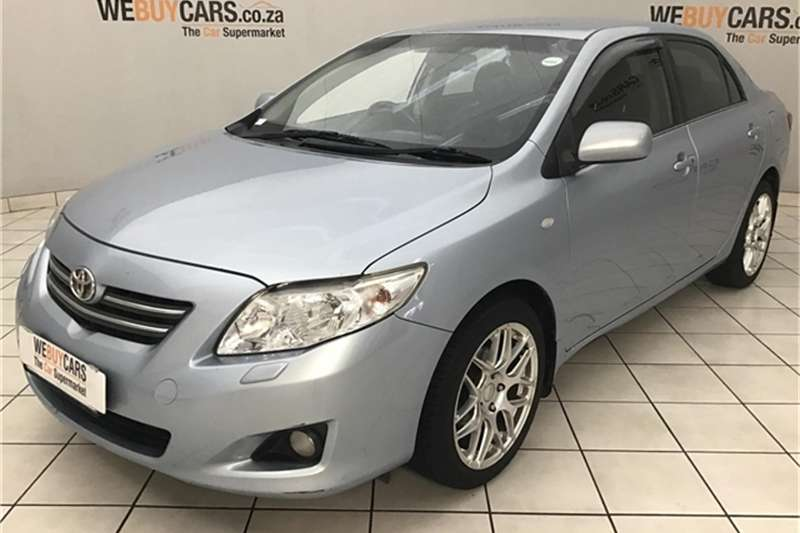 2008 Toyota Corolla 1.8 Exclusive automatic