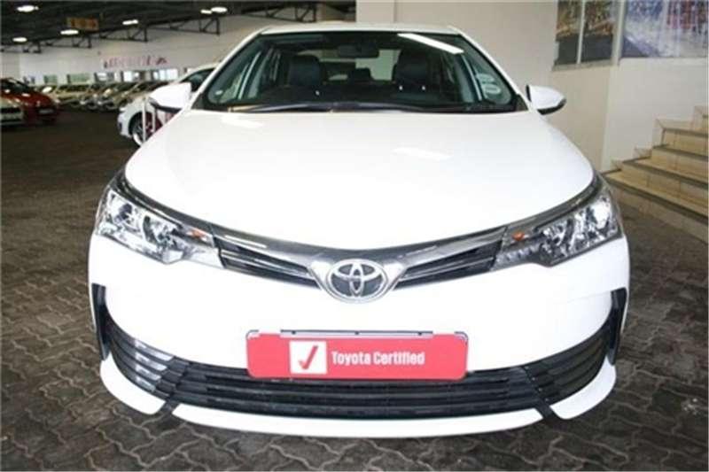2018 Toyota Corolla 1.6 Prestige auto