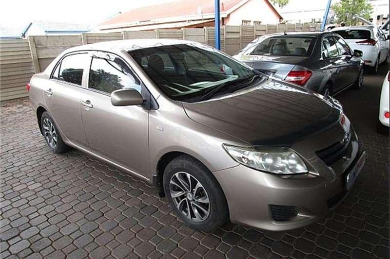 2010 Toyota Corolla 1.3 Professional